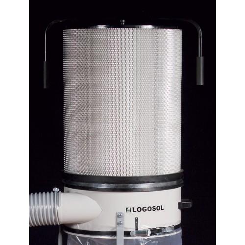 Støvfilter for sponvifte, 1,1 kW og 2,2 kW