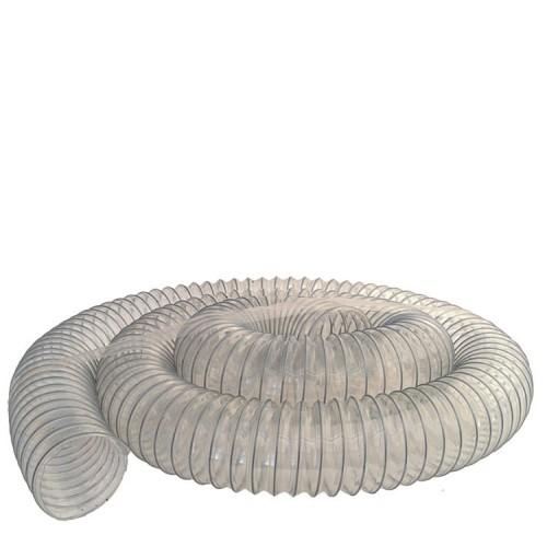 Flexislange, 125 mm, 3 meter, klar plast
