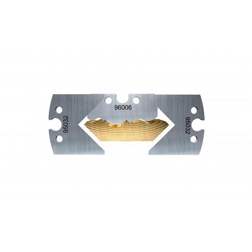 Profile soffit moulding, 70mm