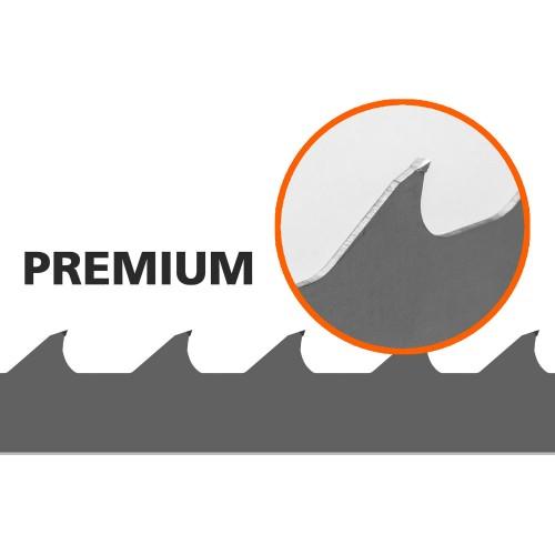 1 st Premium-sagblad till B751, L: 3843 mm, B: 34 mm