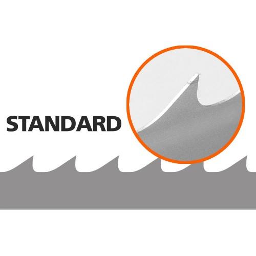 5 st Standard-sagblad till B751, L: 3843 mm, B: 33 mm
