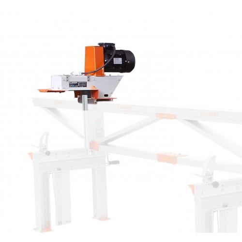Tømmerfres 4 kW (for E37 frammating), uten stål (400V)